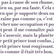 Pagina. Il Piccolo Principe