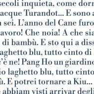 Pagina. Turandot - Libretto