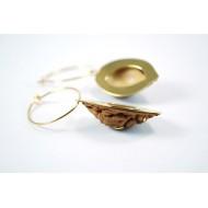 orecchini Pesca