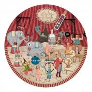 puzzle circolare Il circo