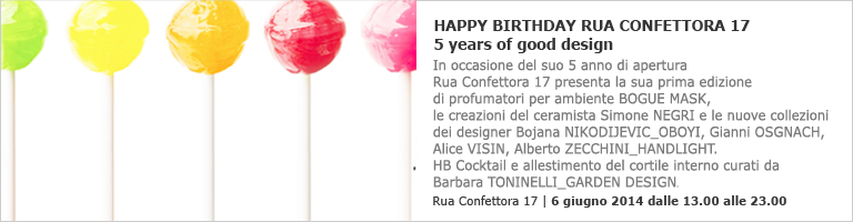evento happy birthday rua confettora 17 5 years of good design