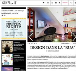 articolo Design dans la rua di Simone Sbarbati per Grazia magazine