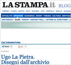 La Stampa.it blog Ugo La Pietra. Disegni dall'archivio