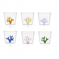 set 6 bicchieri Barriera corallina