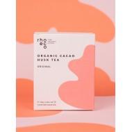 tisana con bucce di cacao tostato