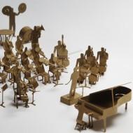 Orchestra modellino architettonico