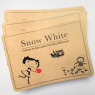 Libro illustrato White Snow
